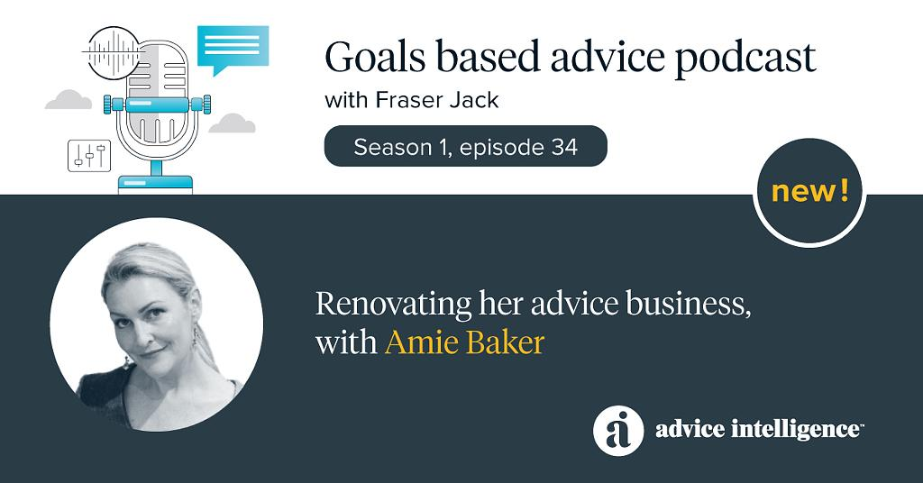 Renovating her advice business, with Amie Baker – An interview by Fraser Jack